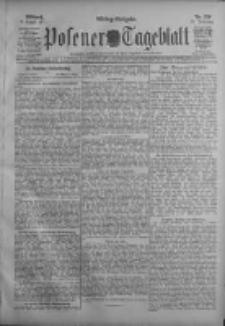 Posener Tageblatt 1911.08.09 Jg.50 Nr370
