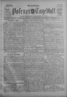 Posener Tageblatt 1911.08.12 Jg.50 Nr376