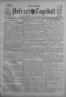 Posener Tageblatt 1911.08.15 Jg.50 Nr379