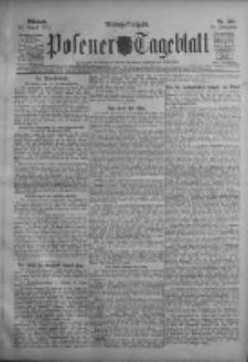 Posener Tageblatt 1911.08.16 Jg.50 Nr282
