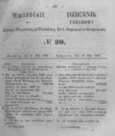 Amtsblatt der Königlichen Preussischen Regierung zu Bromberg. 1856.05.16 No.20