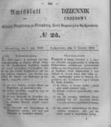 Amtsblatt der Königlichen Preussischen Regierung zu Bromberg. 1856.06.06 No.23