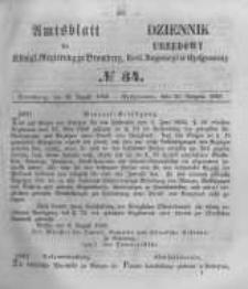 Amtsblatt der Königlichen Preussischen Regierung zu Bromberg. 1856.08.22 No.34