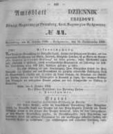 Amtsblatt der Königlichen Preussischen Regierung zu Bromberg. 1856.10.31 No.44