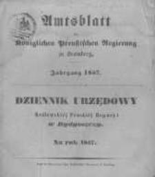 Amtsblatt der Königlichen Preussischen Regierung zu Bromberg. 1857.01.02 No.1