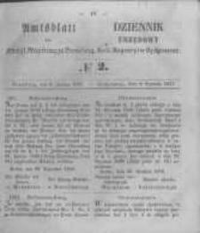 Amtsblatt der Königlichen Preussischen Regierung zu Bromberg. 1857.01.09 No.2