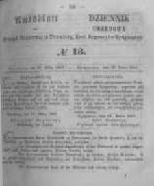 Amtsblatt der Königlichen Preussischen Regierung zu Bromberg. 1857.03.27 No.13