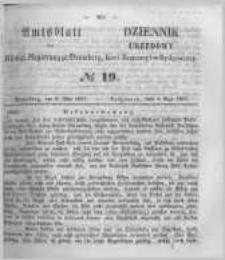 Amtsblatt der Königlichen Preussischen Regierung zu Bromberg. 1857.05.08 No.19
