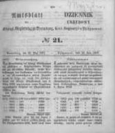 Amtsblatt der Königlichen Preussischen Regierung zu Bromberg. 1857.05.22 No.21