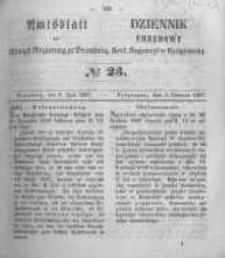 Amtsblatt der Königlichen Preussischen Regierung zu Bromberg. 1857.06.05 No.23