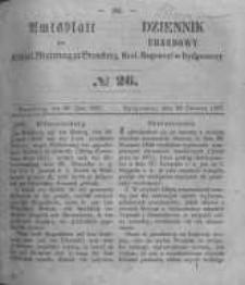 Amtsblatt der Königlichen Preussischen Regierung zu Bromberg. 1857.06.26 No.26