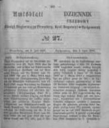 Amtsblatt der Königlichen Preussischen Regierung zu Bromberg. 1857.07.03 No.27