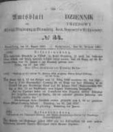 Amtsblatt der Königlichen Preussischen Regierung zu Bromberg. 1857.08.21 No.34