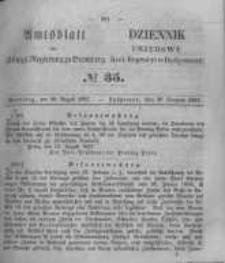 Amtsblatt der Königlichen Preussischen Regierung zu Bromberg. 1857.08.28 No.35