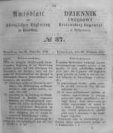 Amtsblatt der Königlichen Preussischen Regierung zu Bromberg. 1858.09.10 No.37