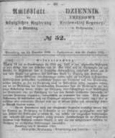 Amtsblatt der Königlichen Preussischen Regierung zu Bromberg. 1858.12.24 No.52