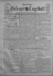 Posener Tageblatt 1911.08.20 Jg.50 Nr389