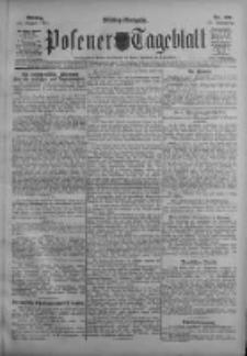 Posener Tageblatt 1911.08.21 Jg.50 Nr390
