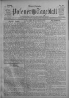 Posener Tageblatt 1911.08.22 Jg.50 Nr391