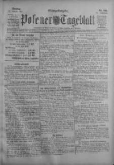Posener Tageblatt 1911.08.22 Jg.50 Nr392