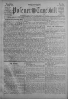 Posener Tageblatt 1911.08.24 Jg.50 Nr395
