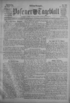 Posener Tageblatt 1911.08.24 Jg.50 Nr396