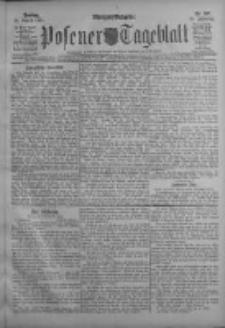 Posener Tageblatt 1911.08.25 Jg.50 Nr397