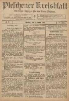 Pleschener Kreisblatt: Amtlicher Anzeiger für den Kreis Pleschen 1906.01.06 Jg.54 Nr2