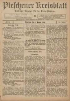 Pleschener Kreisblatt: Amtlicher Anzeiger für den Kreis Pleschen 1906.01.31 Jg.54 Nr9