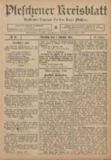 Pleschener Kreisblatt: Amtlicher Anzeiger für den Kreis Pleschen 1906.02.07 Jg.54 Nr11
