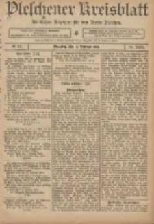 Pleschener Kreisblatt: Amtlicher Anzeiger für den Kreis Pleschen 1906.02.17 Jg.54 Nr14