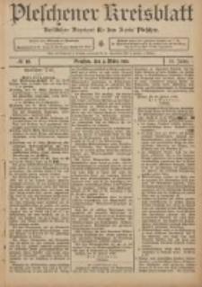 Pleschener Kreisblatt: Amtlicher Anzeiger für den Kreis Pleschen 1906.03.03 Jg.54 Nr18