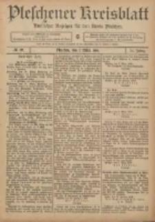 Pleschener Kreisblatt: Amtlicher Anzeiger für den Kreis Pleschen 1906.03.07 Jg.54 Nr19