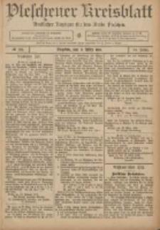 Pleschener Kreisblatt: Amtlicher Anzeiger für den Kreis Pleschen 1906.03.26 Jg.54 Nr26
