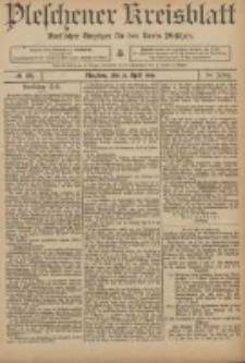 Pleschener Kreisblatt: Amtlicher Anzeiger für den Kreis Pleschen 1906.04.21 Jg.54 Nr32