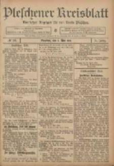 Pleschener Kreisblatt: Amtlicher Anzeiger für den Kreis Pleschen 1906.05.05 Jg.54 Nr36