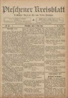 Pleschener Kreisblatt: Amtlicher Anzeiger für den Kreis Pleschen 1906.05.09 Jg.54 Nr37