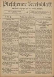 Pleschener Kreisblatt: Amtlicher Anzeiger für den Kreis Pleschen 1906.05.12 Jg.54 Nr38