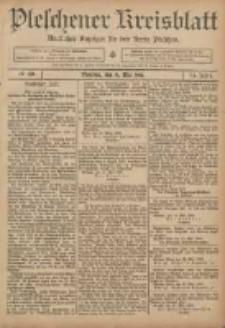 Pleschener Kreisblatt: Amtlicher Anzeiger für den Kreis Pleschen 1906.05.19 Jg.54 Nr40