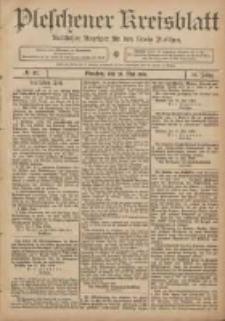 Pleschener Kreisblatt: Amtlicher Anzeiger für den Kreis Pleschen 1906.05.23 Jg.54 Nr41