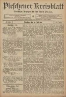 Pleschener Kreisblatt: Amtlicher Anzeiger für den Kreis Pleschen 1906.07.25 Jg.54 Nr59
