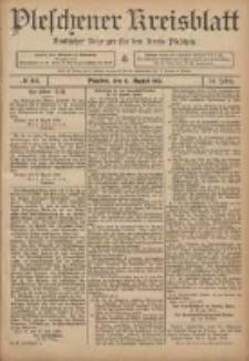 Pleschener Kreisblatt: Amtlicher Anzeiger für den Kreis Pleschen 1906.08.11 Jg.54 Nr64