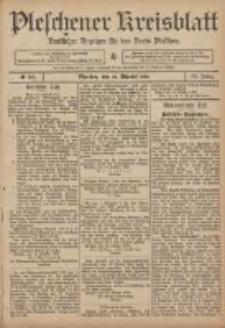 Pleschener Kreisblatt: Amtlicher Anzeiger für den Kreis Pleschen 1906.10.24 Jg.54 Nr85