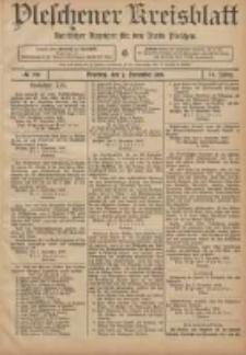 Pleschener Kreisblatt: Amtlicher Anzeiger für den Kreis Pleschen 1906.11.07 Jg.54 Nr89