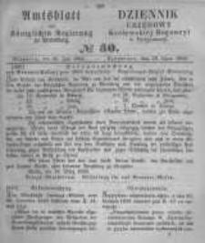 Amtsblatt der Königlichen Preussischen Regierung zu Bromberg. 1859.07.29 No.30