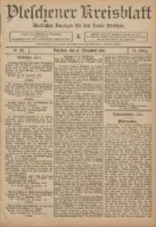 Pleschener Kreisblatt: Amtlicher Anzeiger für den Kreis Pleschen 1906.11.17 Jg.54 Nr92