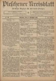Pleschener Kreisblatt: Amtlicher Anzeiger für den Kreis Pleschen 1906.11.21 Jg.54 Nr93
