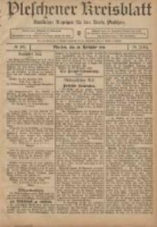 Pleschener Kreisblatt: Amtlicher Anzeiger für den Kreis Pleschen 1906.11.28 Jg.54 Nr95