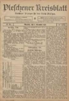 Pleschener Kreisblatt: Amtlicher Anzeiger für den Kreis Pleschen 1906.12.01 Jg.54 Nr96
