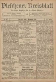 Pleschener Kreisblatt: Amtlicher Anzeiger für den Kreis Pleschen 1906.12.05 Jg.54 Nr97